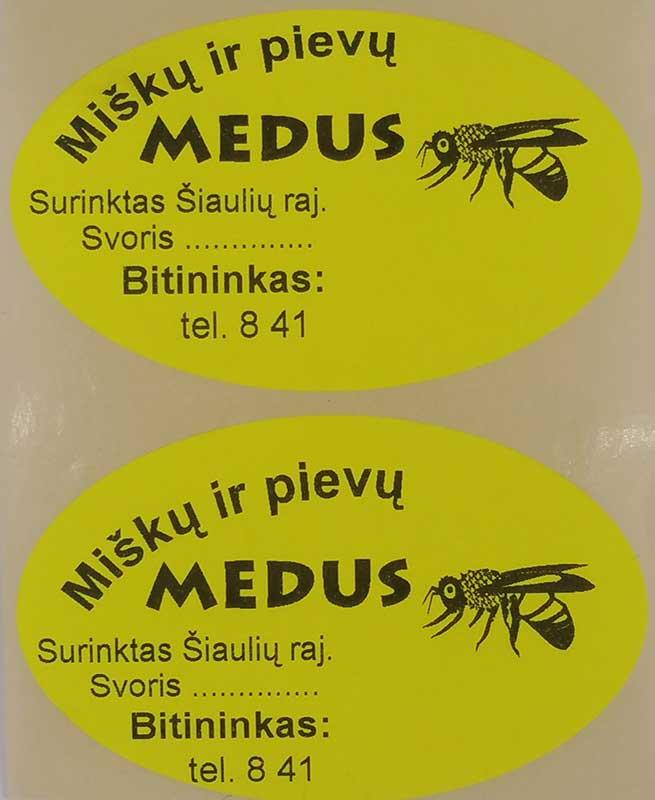 Lipnios etiketės